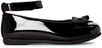 Rachel Toddler Girls) Black Lil Jacqueline Ankle Strap Patent Flats