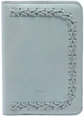 Chloé Blue Leather Purses, wallets & cases