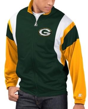 Starter Men's Green Bay Packers The Contender Track Jacket