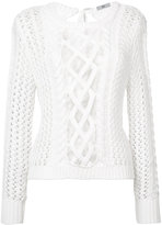 Zac Posen 'Angela' sweater - women - cotton - L