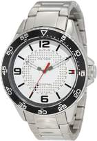 Tommy Hilfiger Men's 1790838 Sport Stainless Steel case and bracelet with dial Watch
