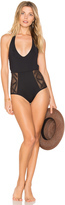 L-Space LSPACE Fireside Cheeky One Piece