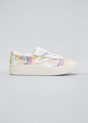 Tretorn NY Lite Tie Dye Sneakers