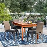 Sol 72 Outdoor Brighton 7 Piece Dining Set With Cushions Sol 72 Outdoor