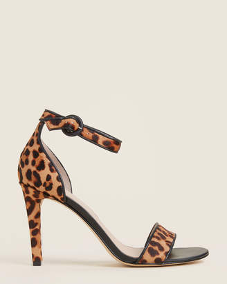 Marc Fisher Light Brown Koraly Leopard Sandals