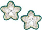 Thumbnail for your product : Lele Sadoughi Swarovski Star Button Earrings