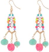 Accessorize Belize Pom Pom Statement Earrings