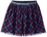 Tommy Hilfiger Printed Plaid Skirt (Big Kids)
