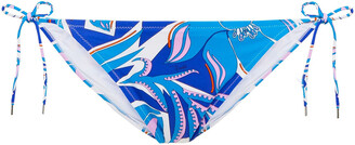 Emilio Pucci Printed Low-rise Bikini Briefs