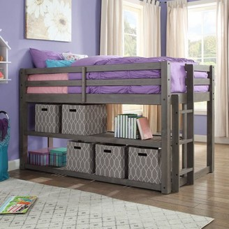 Better Homes & Gardens Greer Twin Loft Storage Bed, Multiple Finishes