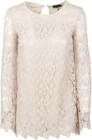 Ermanno Scervino Floral Lace Shirt