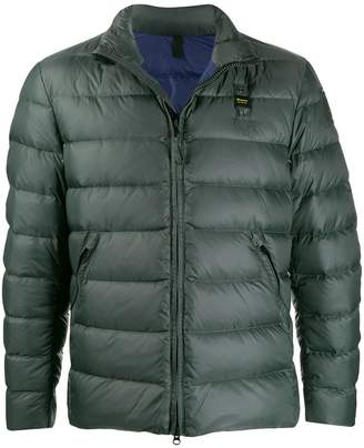 Blauer high neck down jacket