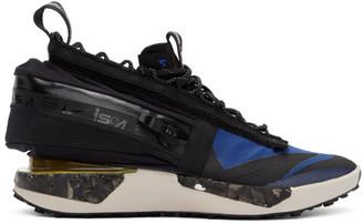 Nike Blue and Black ISPA Drifter Gator Sneakers
