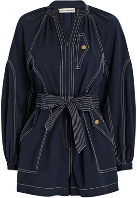Ulla Johnson Piper Belted Playsuit