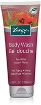 Kneipp Herbal Body Wash Gel Douche, Pure Bliss, Red Poppy & Hemp, 6.76 fl. oz.