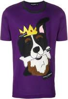 Dolce & Gabbana dog print shirt