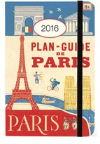 Cavallini & Co. Cavallini AG2016/PAR 2016 Paris Weekly Planner
