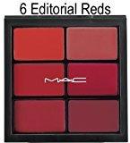 M·A·C MAC Pro Lip palette ~ 6 EDITORIAL REDS