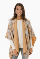 Look by M Exclusive Tenley Double Sided Poncho
