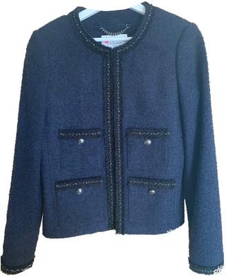 LK Bennett Blue Tweed Jacket for Women