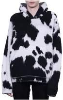 Laneus Hooded Animalier Sweater