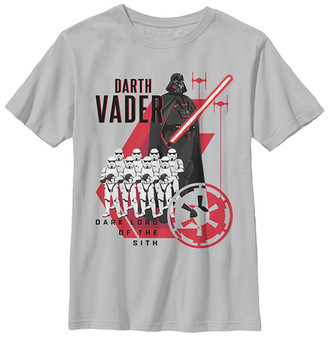 Fifth Sun Boys' Tee Shirts CHARCOAL - Star Wars Charcoal 'Lord of the Sith' Tee - Boys
