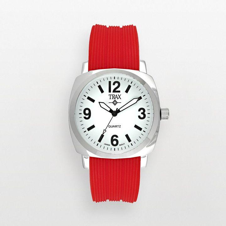 Shelley Trax TM silver-tone watch - women
