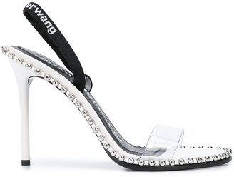 Alexander Wang Studded Sling-Back Sandals