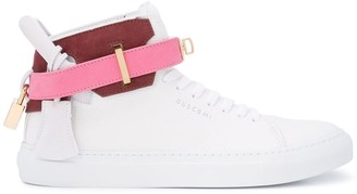 Buscemi hi-top ankle strap sneakers