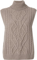 Semi-Couture Alec Wool Turtle Neck Gilet