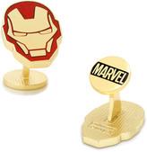 Marvel Gold-Plated Iron Man Helmet Cufflinks