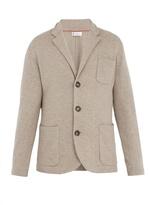 Brunello Cucinelli Long-sleeved Wool-blend Cardigan