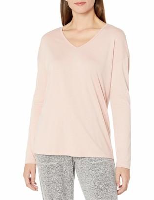 Hanro Women's Ami Long Sleeve V-Neck Shirt
