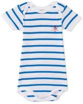 Petit Bateau Baby boy striped bodysuit