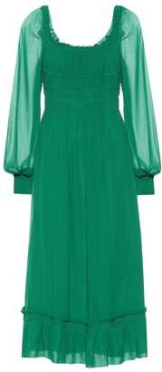 Proenza Schouler Silk chiffon midi dress