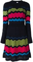 M Missoni zig zag knit dress
