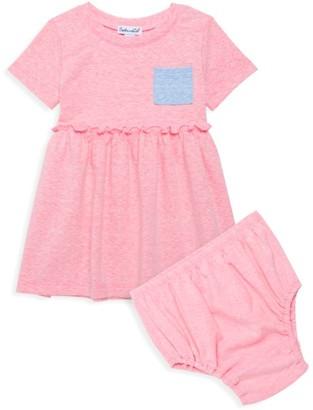 Splendid Baby Girl's 2-Piece Colorblock Dress & Bloomer Set