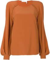 Chloé bell sleeved blouse