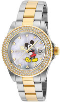 Disney Mickey Mouse Watch for Women by INVICTA - Steel/Gold - Limited Edition