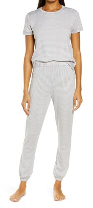 Emerson Road Stripe Women's Jogger Pajamas