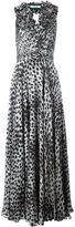 Blumarine leopard print gown