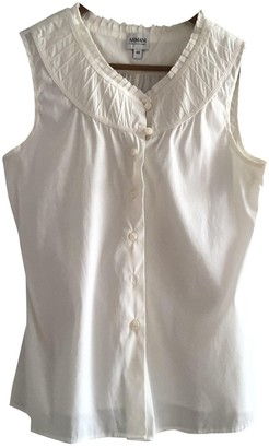 Armani Collezioni White Top for Women