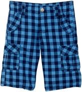 Kanz Check Cargo Bermuda Shorts (Toddler, Little Boys, & Big Boys)