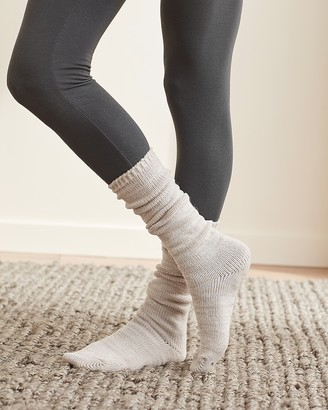 Express Upwest Cable Knit Snuggle Socks