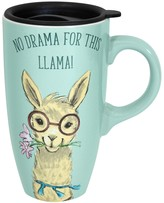 "Enchante No Drama for This Llama"" Travel Mug"