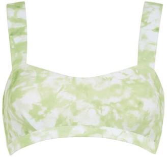 Faithfull The Brand Provence Tie-Dye Bikini Top