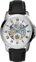 Fossil ME3053 Grant stainless steel and leather watch