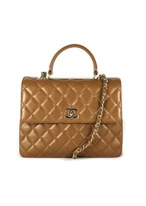 Chanel Coco Handle Camel Leather Handbags
