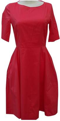 Strenesse Red Cotton Dress for Women
