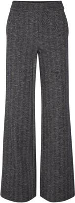 Theory Talbert Herringbone Wool-blend Straight-leg Pants